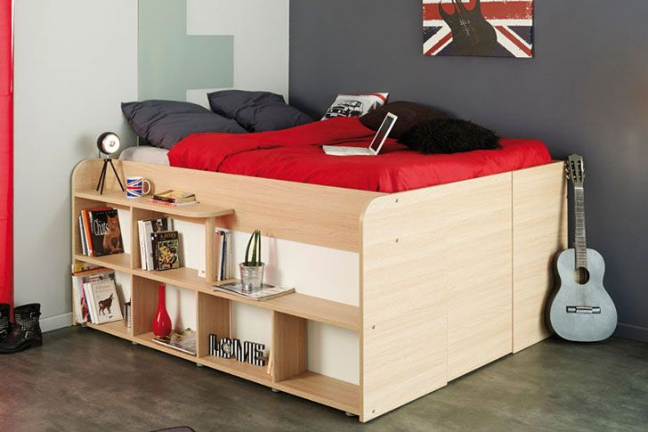 This Unique Bed Is Also A Storage Closet Bed Frame With Storage