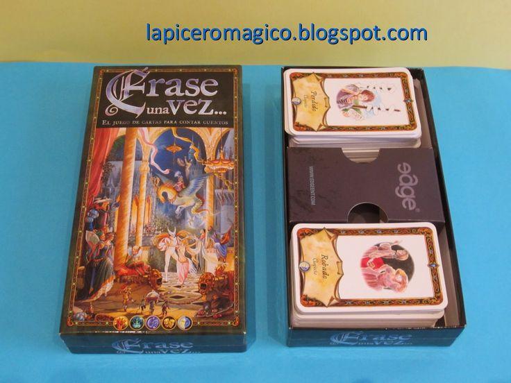 Hace ya seis años que compré en la página http://www.edgeent.com este fantástico juego de cartas para inventar cuentos. Es un jueg...