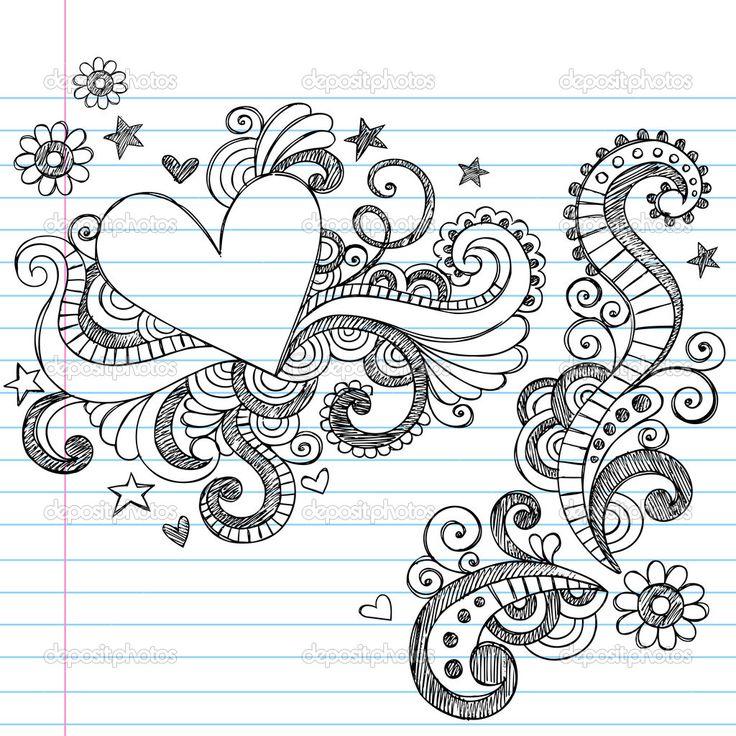 17 Best Ideas About Notebook Doodles On Pinterest