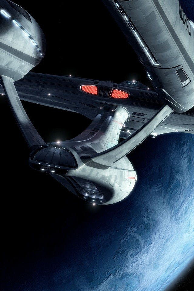 The Enterprise 1701. Such beautiful lines......