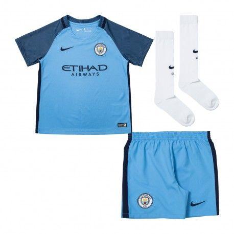 Maillot Manchester City Enfant 2016-2017 Domicile