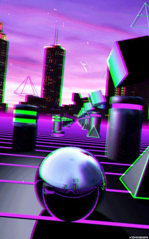 GE0 TR∆VEL // gustavo torres aka kidmograph // net art . gif art . motion graphics . vaporwave