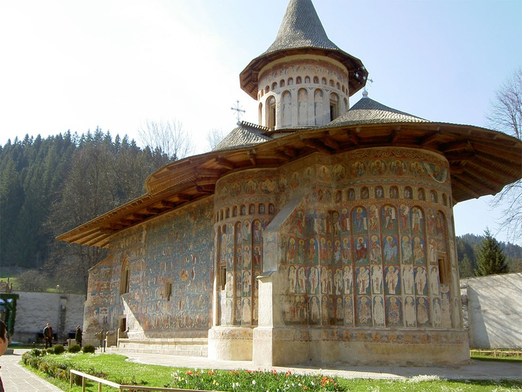 Voroneț is a monastery in Romania, located in the town of Gura Humorului, Moldavia. It is one of the famous painted monasteries from southern Bukovina, in Suceava County.