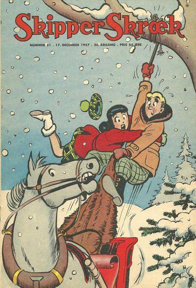 Cover for Skipper Skræk (Aller [DK], 1938 series) #51/1957