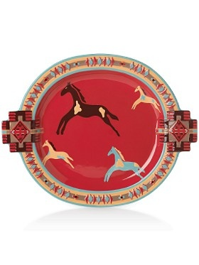 Pendleton Ranch House serving platter