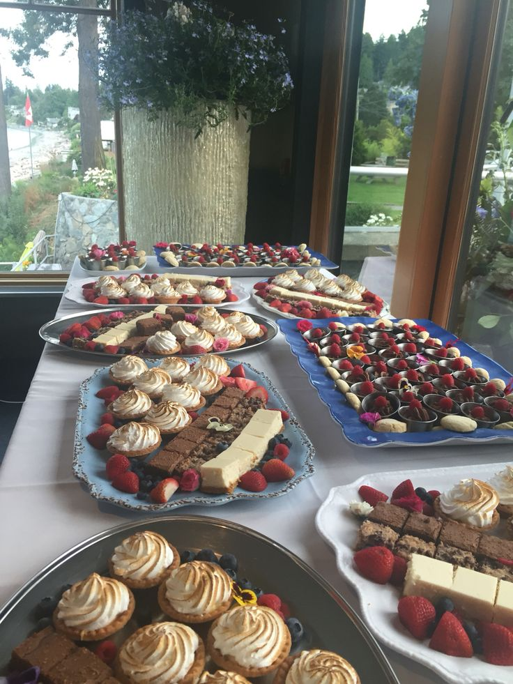 Dessert buffet? Yes please!