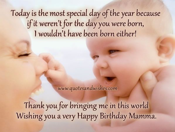 quotes+for+your+mom+birthday | Beautiful Birthday wishes for ...