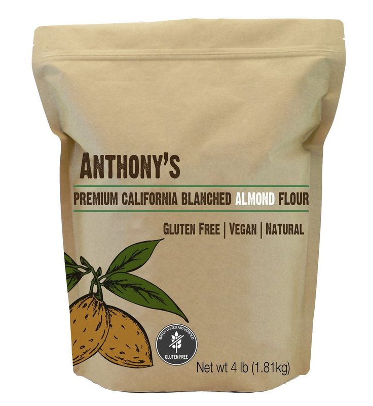 Anthony's Blanched Almond Flour, Batch Tested Gluten-Free