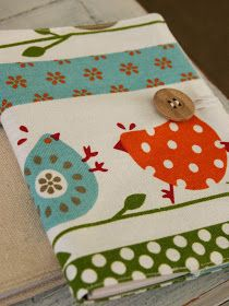 The Whimsical Wife: Fabric Covered Notebook Tutorial