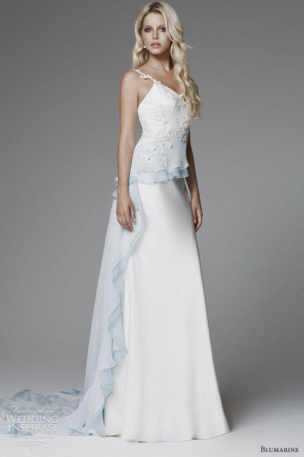 25 cute peplum wedding dress ideas on pinterest peplum style blumarine 2013 bridal collection junglespirit Choice Image