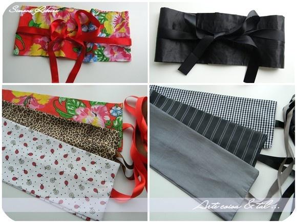 O obi, acessório da vestimenta japonesa, usado na cintura ou abaixo dos seios. Ficam lindas em  camisas, regatas, jaquetas e vestidos, para marcar a cintura e modelar a silhueta. Com duas opções de amarração na frente ou nas costas, com nó ou laço.  Medidas relevantes: - Circunferência de 65cm a 90cm - Faixas de amarrar ( cada lado) 74cm  ***** Mais detalhes, cores e estampas consulte-nos através do e-mail: arq.simoneribeiro@yahoo.com.br  Envio por carta registrada para todo o Brasil R$ 6,00…