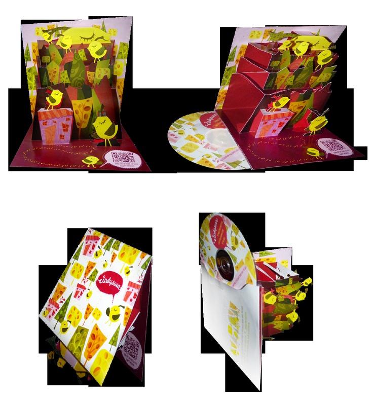 Pop-Up CD Case Design - Cindy Suen | Motion, Design, Illustration