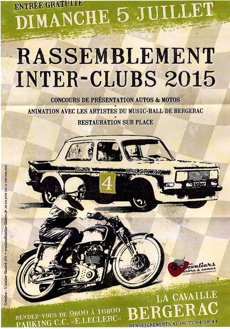 Rassemblement inter clubs Bergerac
