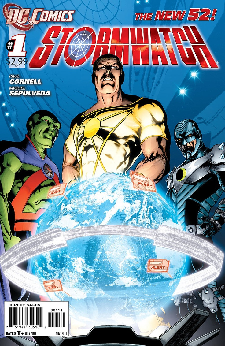Stormwatch #1 Initial Team Included Jack Hawksmoor, Apollo, Midnighter,  Jenny Quantum,