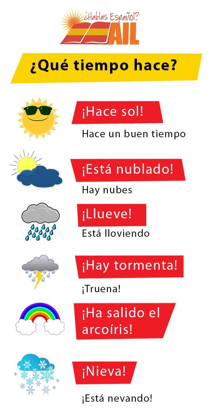 Os podemos asegurar que en Madrid ahora hace MUCHO CALOR. Con ayuda de este post, ¿podéis decirnos qué tiempo hace ahora en vuestro país? ¡Gracias!  #LearnSpanish #studyspanish