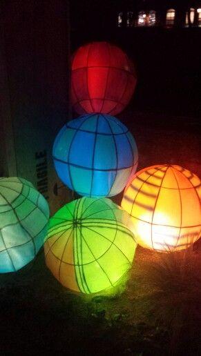 Lanternes de #Metz : Ballons