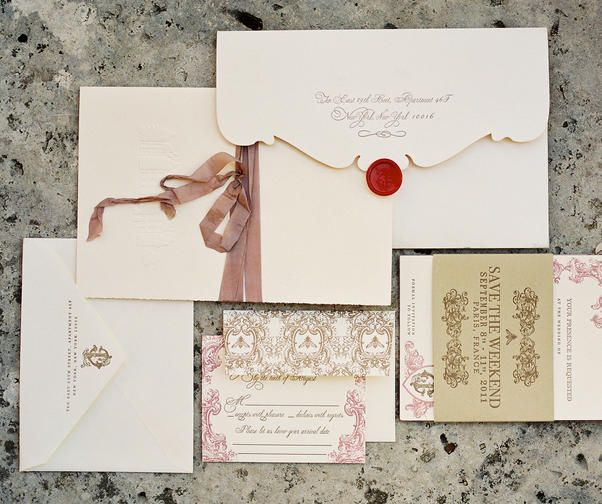 Wedding Invitation Wording: Everyone is Hosting--Formal - Wedding Planning - Wedding Invitations + Stationery