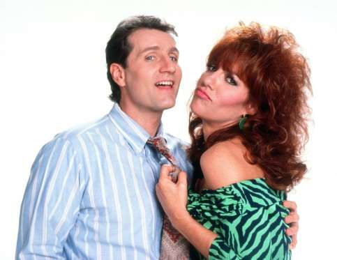 """Katey Sagal and Ed O'Neill together, you're not alone. Katey and Ed played Peggy and Al Bundy on """"Married... With Children"""" for 11 seasons"""