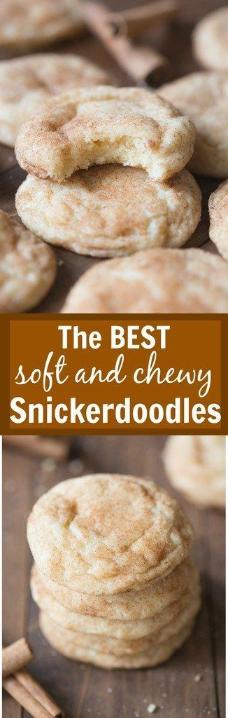 The BEST soft and chewy Snickerdoodles! These get RAVE reviews every time I make them!   Tastes Better From Scratch