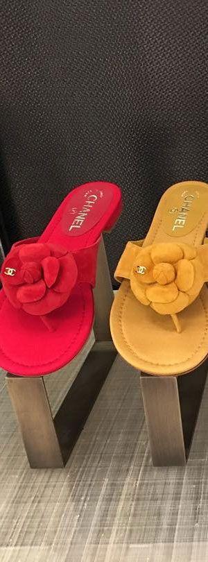 Chanel Camelia Sandals 2016