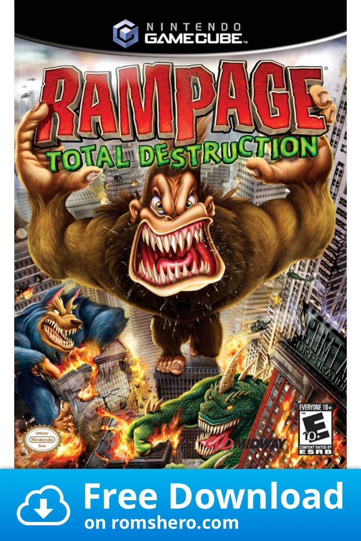 Download Rampage Total Destruction Gamecube Rom In 2020