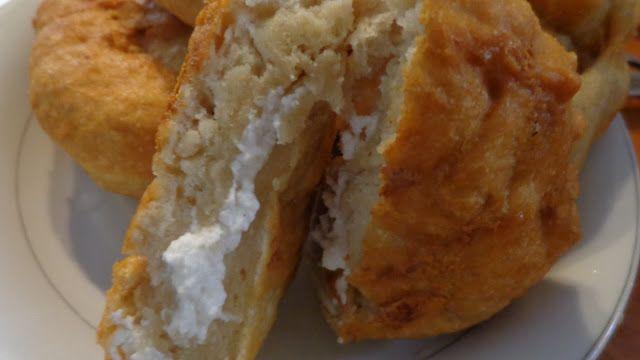 Τηγανόψωμα με τυρί ! Φανταστικά !!! ~ ΜΑΓΕΙΡΙΚΗ ΚΑΙ ΣΥΝΤΑΓΕΣ