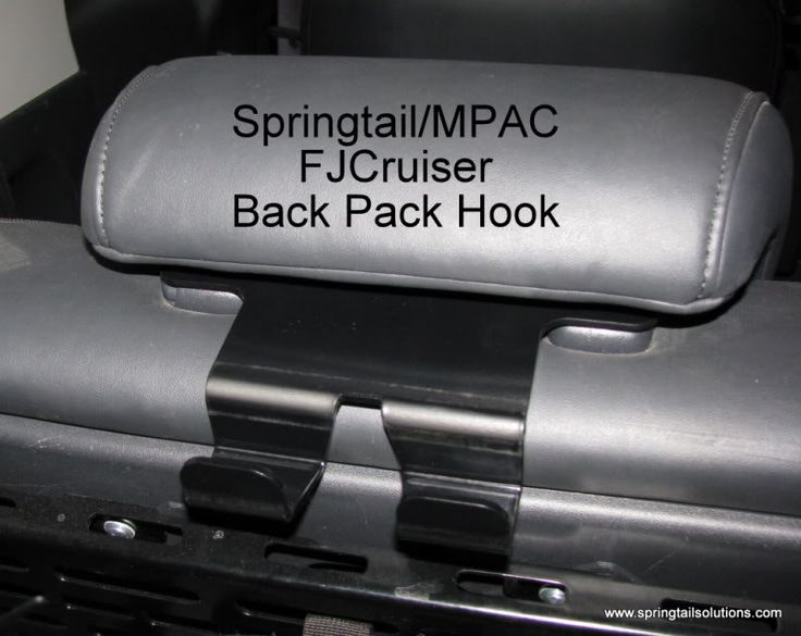 FJ Cruiser Back Pack Hook