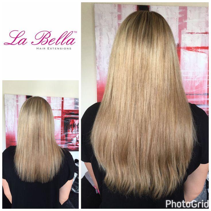 """💁🏼LA BELLA HAIR EXTENSIONS 👱🏼♀️ Full head 16"""" European hair hand made nano tips £450 Visit us at www.labellahair.co.uk #nanorings #nanoringskent #nanoringsessex #nanoringsnottingham #nanoringslondon #nanoringssurrey #nanoringsbeckenham #nanoringsbromley #hairextensionsmaidstone #hairextensionskent #hairextensionsguilford #hairextensionsnottingham #hairextensionslondon #hairextensionsBromley"""