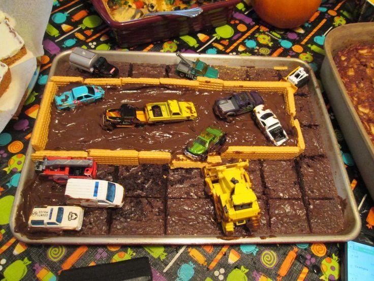 Demolition Derby Cake Ideas