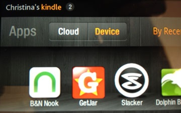on your Kindle Fire, go to m.getjar.com.  Scroll down to Quickdownload and enter code .  Then download, install, and open the GetJar app.  Then search for Nook and download/install.  This article doesn't have real specific instructions, but this is what I did.
