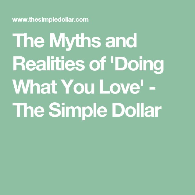 Dating Myths by The Love Doctor