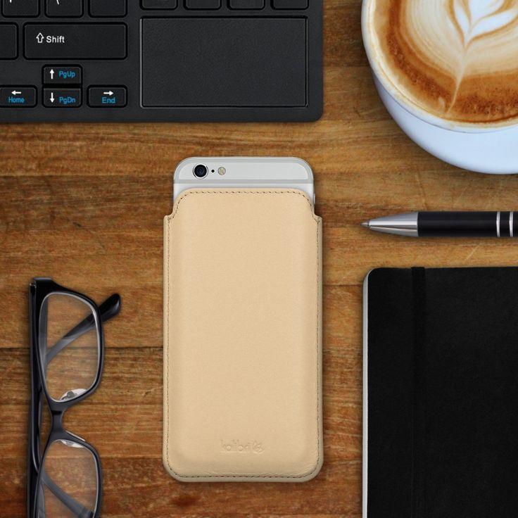 kalibri Leder Tasche Hülle für Apple iPhone 6: Amazon.de: Elektronik