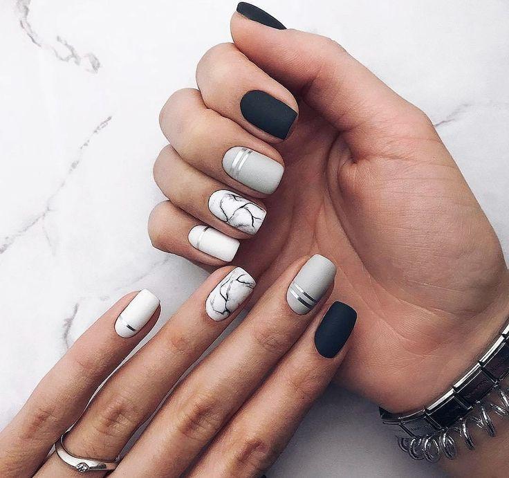 Spring Nail Art 2018: Cute Spring Nail Designs Ideas | Spring nails,  Manicure and Tutorials - Spring Nail Art 2018: Cute Spring Nail Designs Ideas Spring Nails