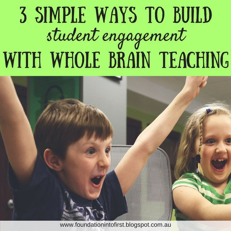 Building student engagement with Whole Brain Teaching