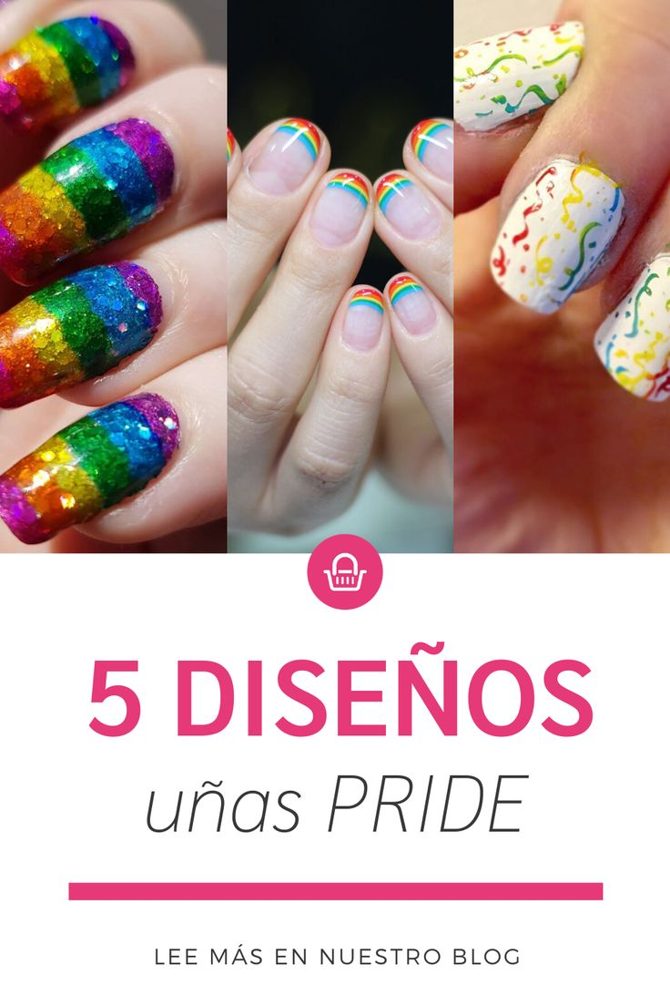¡Intenta hacerlos! Lgbt, Blog, Pride, Nails, Hipster Stuff, Get Skinny, Cream, Finger Nails, Ongles