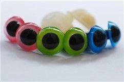 Säkerhetsögon till amigurumi. Finns på sidan; salabim.tictail.com