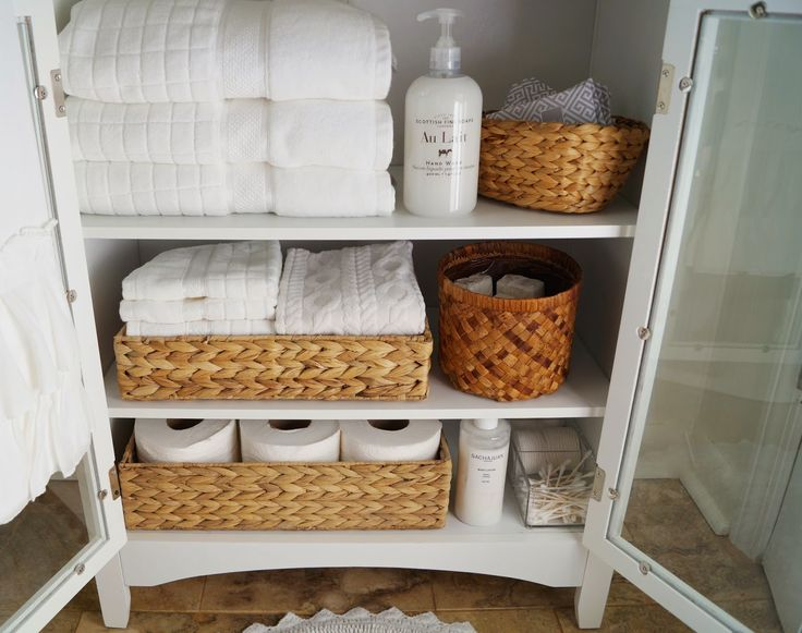 Small Bathroom Linen Cabinet from Don't Disturb This Groove