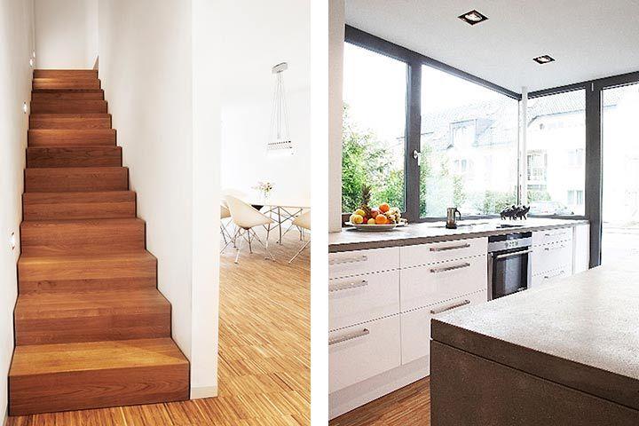 Wohnhaus Wagner, Karlsruhe-Neureut Einrichten und Wohnen - offene küche wohnzimmer trennen