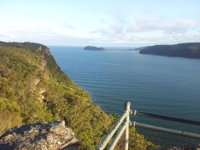 Pearl beach hike hiking patonga central coast gosford woy woy arboretum Warrah Lookout