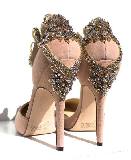 Aminah Jillil Wedding Shoes