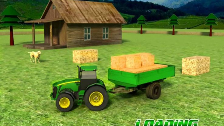 Animal & Hay Transport Tractor  Do you want to experience life of a farmer? Want to manoeuvre heavy farm vehicles including Tractor hay trailer harvester and animal transporter tractor trolley?  Here is the latest simulator for free to have you all that in single game. Start living like a farmer manage your own farm look after your crops and take care of your farm animals like cow sheep goat and horse. Work and drive tractor to provide feed for your farm animals sale their productions in…