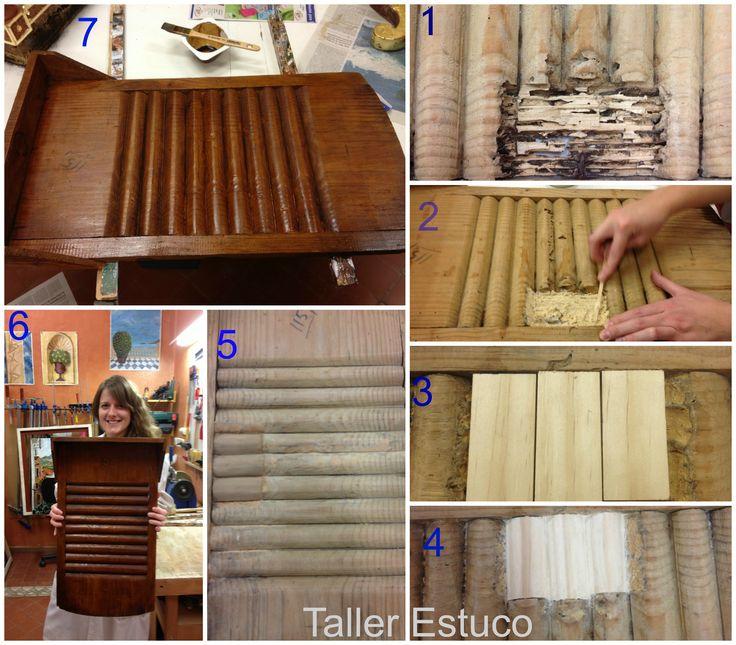 Mejores 46 imágenes de Tutorial Restauración de Muebles en Pinterest ...