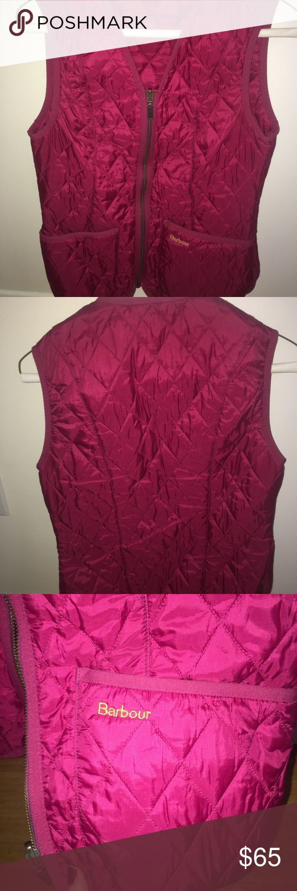 Barbour Vest In perfect condition! Super warm, great for layering in the winter. Open to offers! Barbour Jackets & Coats Vests