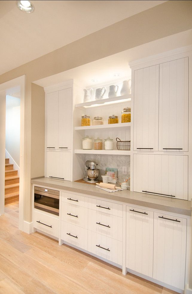 Kitchen Cabinets. Kitchen with open shelves cabinets. Kitchen Cabinet.