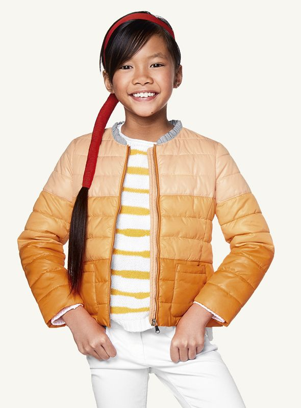 #Benetton #SS17 #collection #trend #fashion #kids #girl #color #jacket
