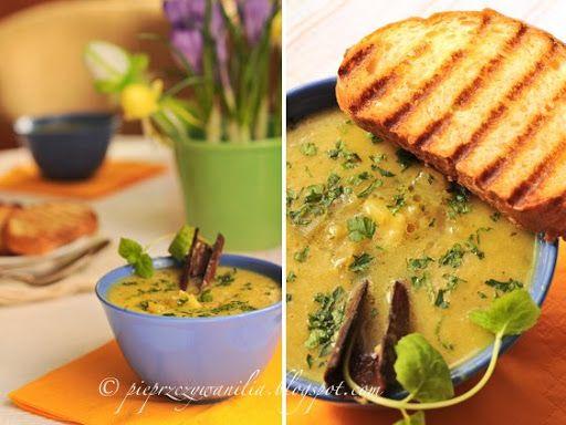 pieprz czy wanilia fotografia i kulinaria: Zupa cebulowa po persku