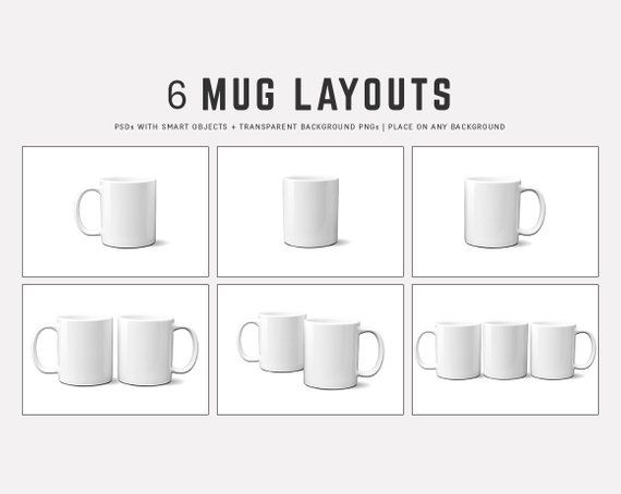 11 Oz Full Wrap Mug Mockup Blanks 11oz Coffee Mug Mockup Etsy In 2021 Mug Template Mugs Mockup Templates