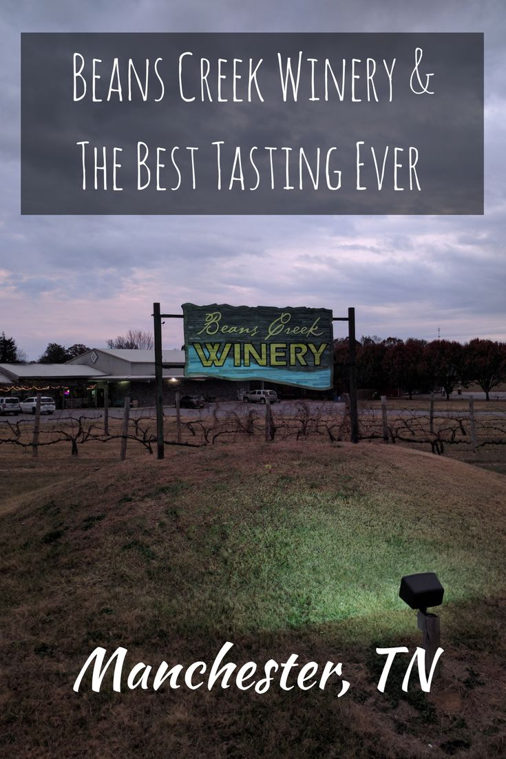 Beans Creek Winery in Manchester Tennessee hosted the best wine tasting ever. They paired their wines with Girl Scout Cookies!!!!