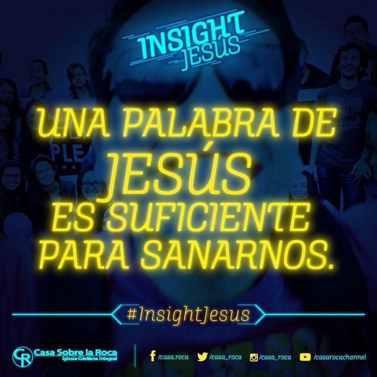 Una palabra de Jesús es suficiente para sanarnos. http://devocional.casaroca.org/jv/04ene/ #InsightJesus