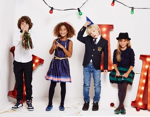 Tommy Hilfiger for kids - holiday looks.  #christmaslook #kidsfashion #tommyhilfiger